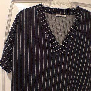 Zara Dresses - Knit shirt dress